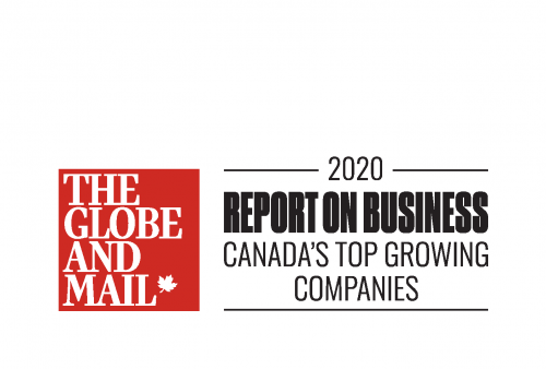 eleven-x Part of The Globe and Mail's 2020 Ranking of Canada's Top Growing Companies